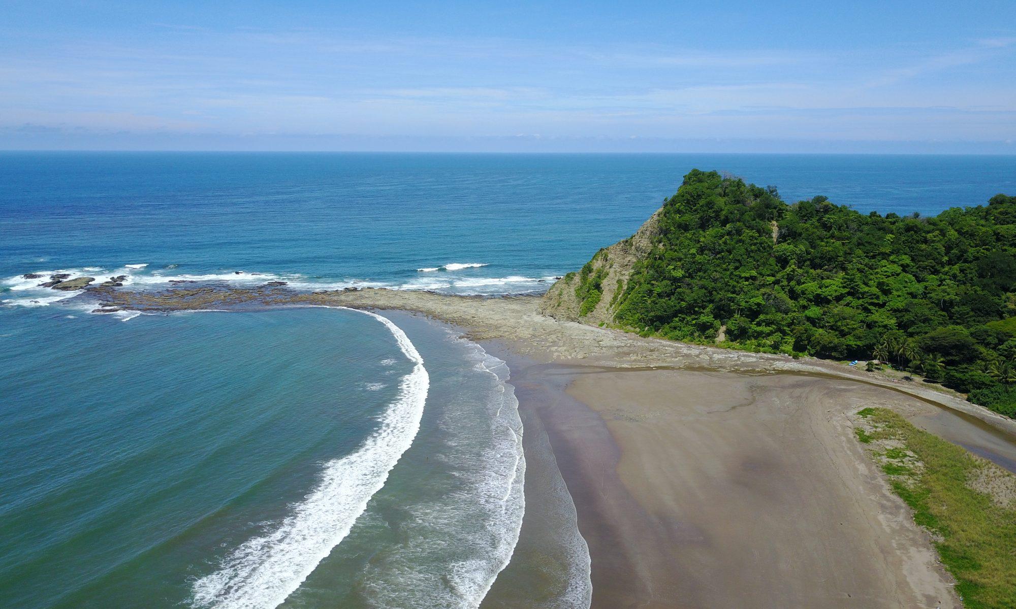 Costa Rica Vacation on a sunny day at the beach Buena Vista Costa Rica