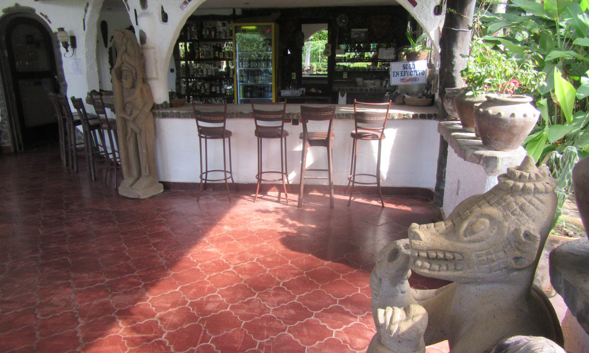 comida en restaurante Costa Rica, Hotel Paraíso del Cocodrilo